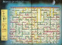 Карта для игры Nodes of Yesod