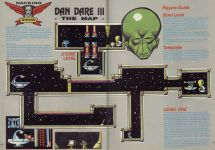 Карта для игры Dan Dare III: The Escape