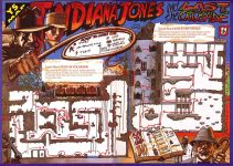 Карта для игры Indiana Jones and the Last Crusade